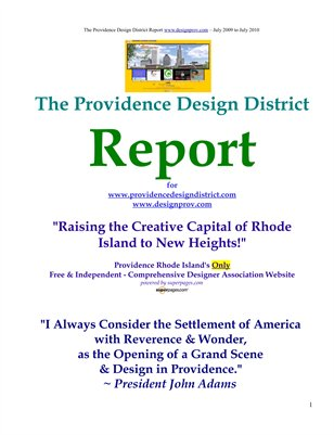 """Design"" In the Creative Capital Of New England - Providence RI"
