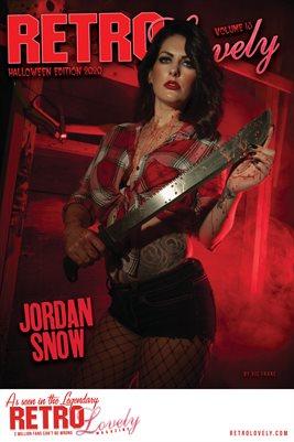 Jordan Snow Cover Poster