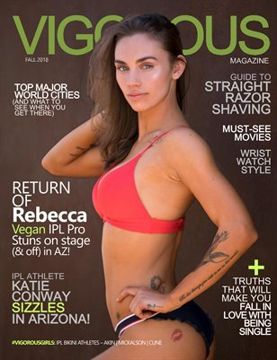 Vigorous Magazine Issue #12 - Fall 2018 - Cover: Rebecca Unruh