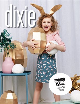 Dixie Magazine - Spring 2020 Issue (Cover 1)