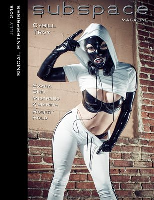 subspace Magazine July 2018 - Cybill Troy cover edition