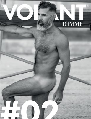 VOLANT Homme - #02 Nude | Cover 1