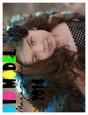 Kid Model magazine 2014 Calendar