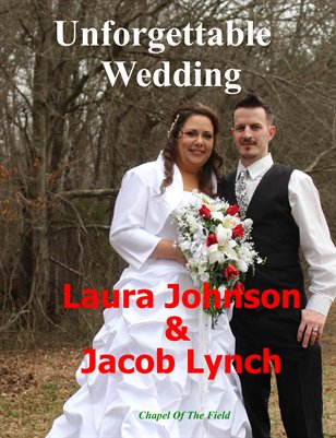 Laura Johnson & Jacob Lynch Wedding Magazine