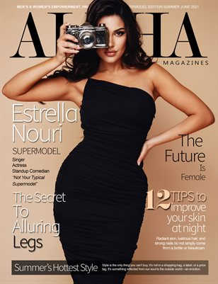 Estrella Nouri | Alpha Magazine Summer 2021