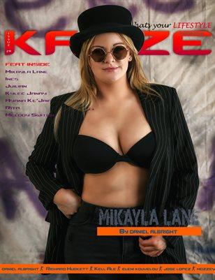 Kayze magazine issue 29 -Mikayla lane - lifestyle