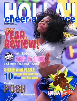 HOLLA'! Cheer and Dance Magazine Summer 2017 Issue