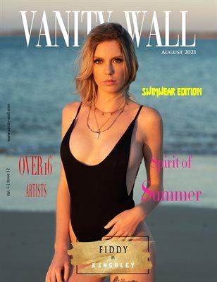 Vanity Wall Magazine | SWIMWEAR EDITION | AUGUST 2021 | Vol. ii Issue 12