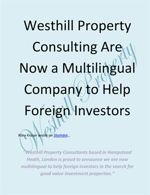 Westhill Property Consulting Are Now a Multilingual Company to Help Foreign Investors