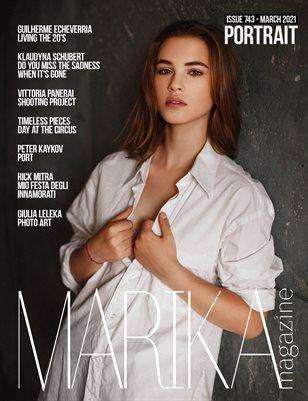MARIKA MAGAZINE PORTRAIT (MARCH - ISSUE 743)