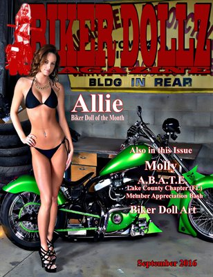 Biker Dollz Magazine September 2016