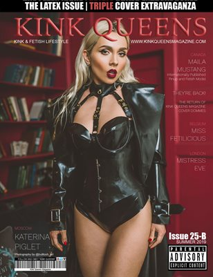 KINK QUEENS MAGAZINE | ISSUE 25-B | SUMMER 2019