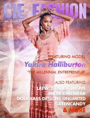 CIE Fashion Magazine Featuring Yakira Halliburton