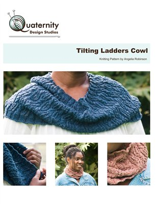 Tilting Ladders Cowl Knitting Pattern
