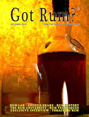 Got Rum? October 2012