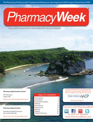 Pharmacy Week, Volume XXV - Issue 38 & 39 - October 23, 2016 - November 5, 2016
