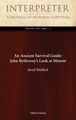 An Ancient Survival Guide: John Bytheway's Look at Moroni