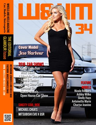 Wheels and Heels Magazine Issue 34 - Jess Harbour