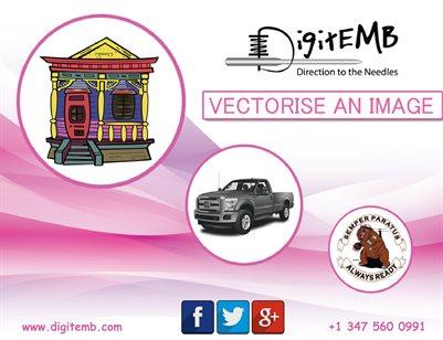 Vectorise an Image