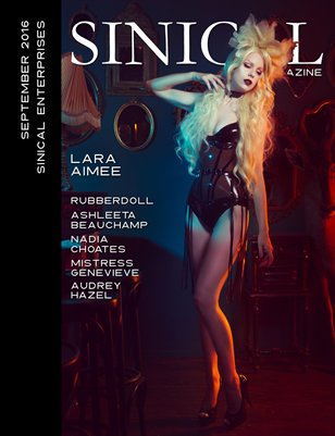 Sinical September 2016 - Lara Aimee cover edition