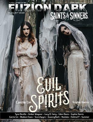 Fuzion Dark : Sophie Harris - Carrie Lin Saints & Sinners Vol. 1 Cover 2