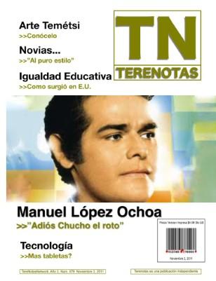 Manuel López Ochoa... Adiós Chuco el roto