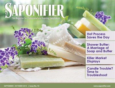 Saponifier Magazine: Sept/Oct 2015