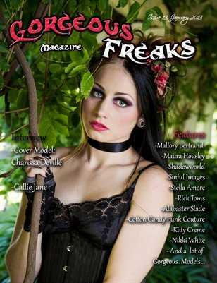 Issue13 Female Model Cover: Charissa Deville