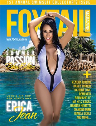 FOXTAIL Magazine Isue #12 | Erica Jean Cover