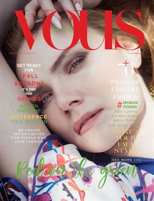 VOUS Magazine | The September Fashion & Beauty Edition | Vol.12 | 2021