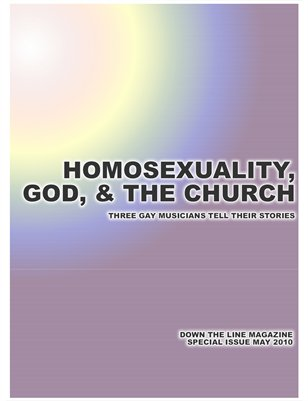 Down the Line Special Issue: Homosexuality, God, & The Church