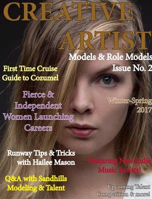 CREATIVE ARTIST MAGAZINE (now TALENTS Magazine)