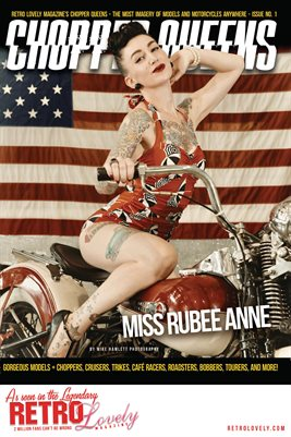Chopper Queens No.1 – Miss Rubee Anne Cover Poster