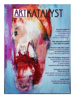 Art Katalyst Magazine May 2014 Issue - Death & Rebirth