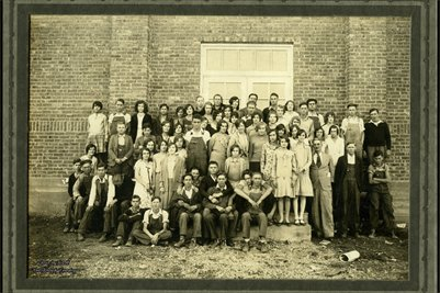 1930 LOWES HIGH SCHOOL, LOWES, GRAVES COUNTY, KENTUCKY