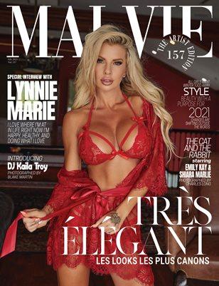 MALVIE Magazine The Artist Edition Vol 157 February 2021