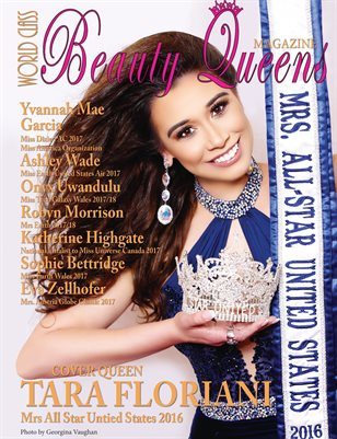 World Class Beauty Queens Magazine with Tara Floriani