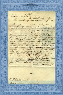1841 CLARK MIZE vs RABURN WYATT, CALLOWAY COUNTY, KENTUCKY