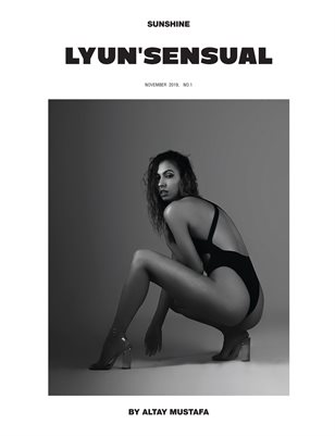 LYUN SENSUAL ISSUE No.1 (VOL No.1) C1