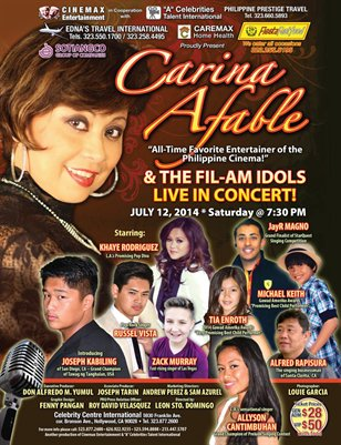 Fil-Am Idols Live In Concert
