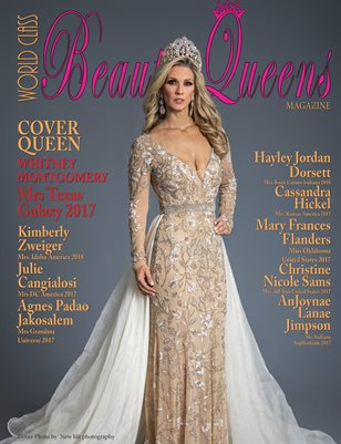 World Class Beauty Queens Magazine issue 52 with Whitney Montgomery