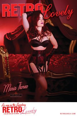 Retro Lovely No.34 - Maria Thorne Cover Poster