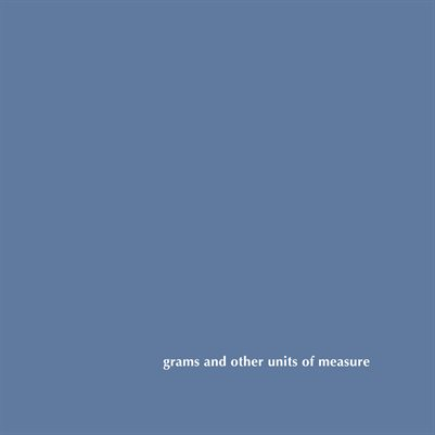 grams and other units of measure