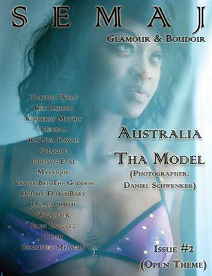 SEMAJ Glamour & Boudoir Issue 2- Open Themed (Australia Tha Model Cover)