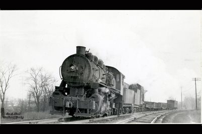 1947 Lehigh Valley Engine No. 3178 Bound Brook New Jersey