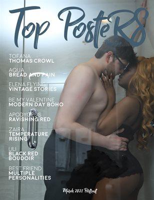 TOP POSTERS MAGAZINE -MARCH,PORTRAIT