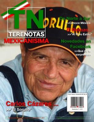 """Carlos Cazares... """"El Sorullo"""""""