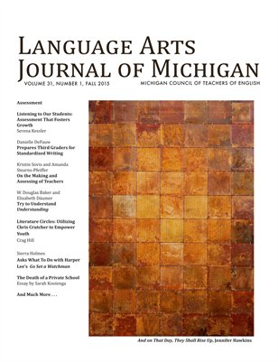 Language Arts Journal of Michigan, 31.1