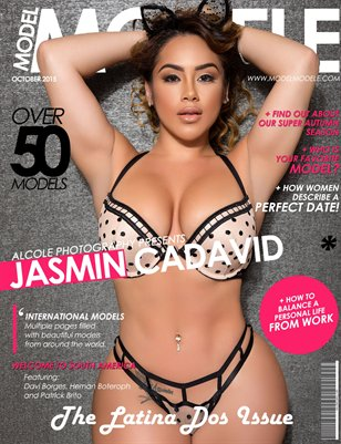 "Model Modele Magazine Presents The Latina ""Dos"" Issue  (Jasmin Cadavid)"