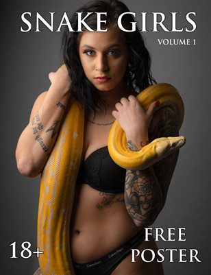 Snake Girls - Volume 1: Slither in Sin (Alternate Cover) | Bad Girls Club